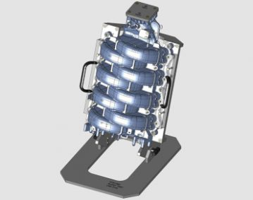 Intake Manifold Burst CAD
