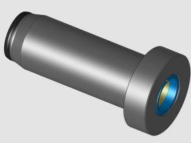 Ti-C Lined Shot-Sleeve Model